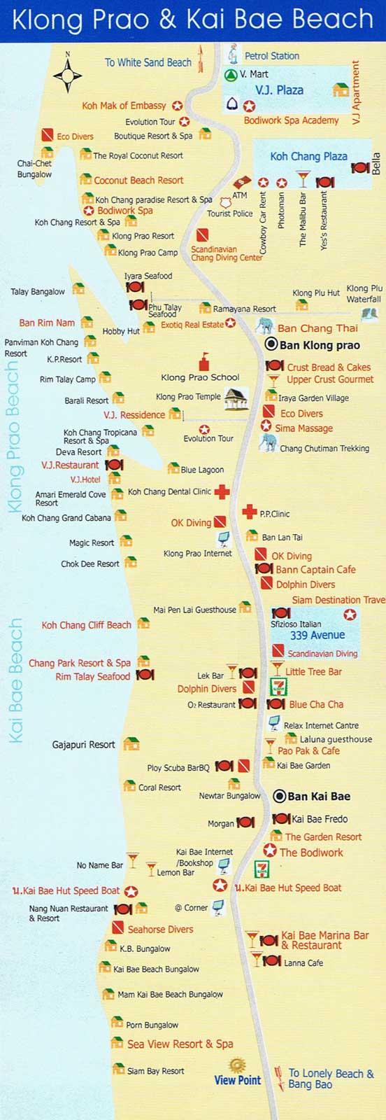 Mapa Plazy Patong Na Puket 1600x492